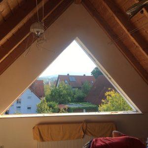 Dreieck Fenster JM - Fenster & Haustüren Jochen Meier